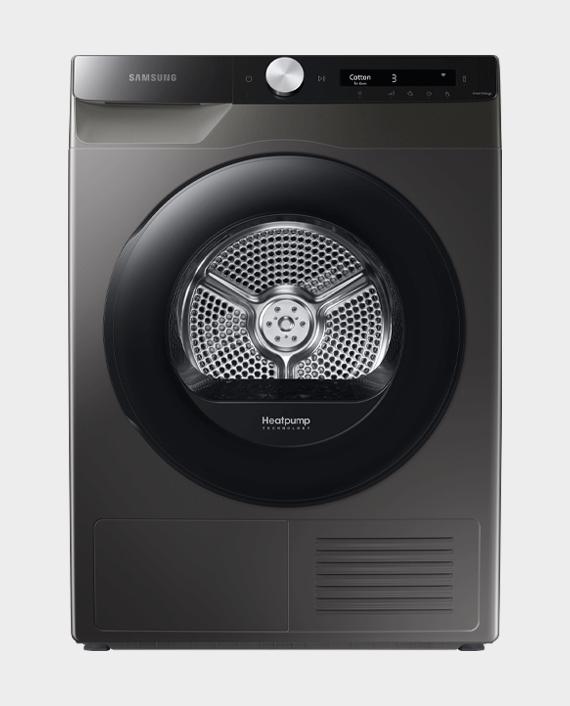 Samsung Series 5+ DV90T5240AW/S1 with OptimalDry Heat Pump Tumble Dryer 9kg Silver in Qatar