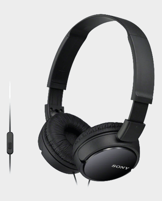 Sony MDR-ZX110AP Wired On-Ear Headphone With Mic in Qatar