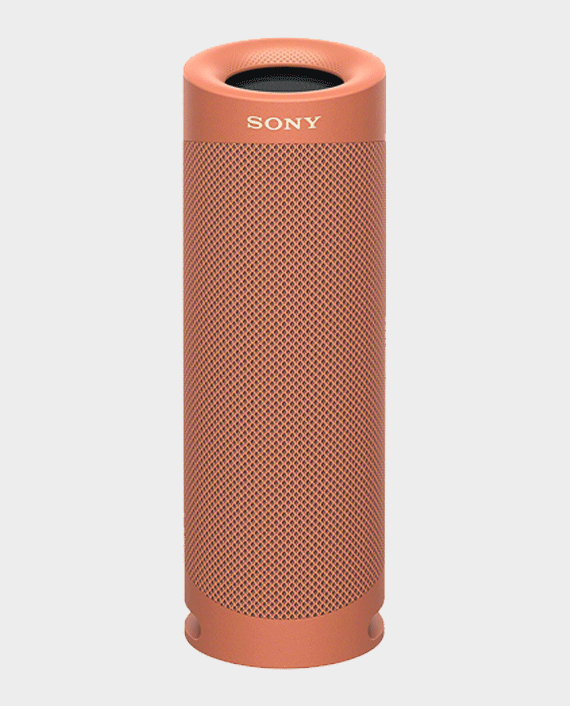 Sony SRS-XB23 Wireless Portable Bluetooth Speaker Coral Red in Qatar