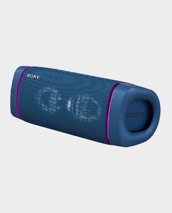 Sony SRS-XB33 Wireless Extra Bass Bluetooth Speaker Blue in Qatar