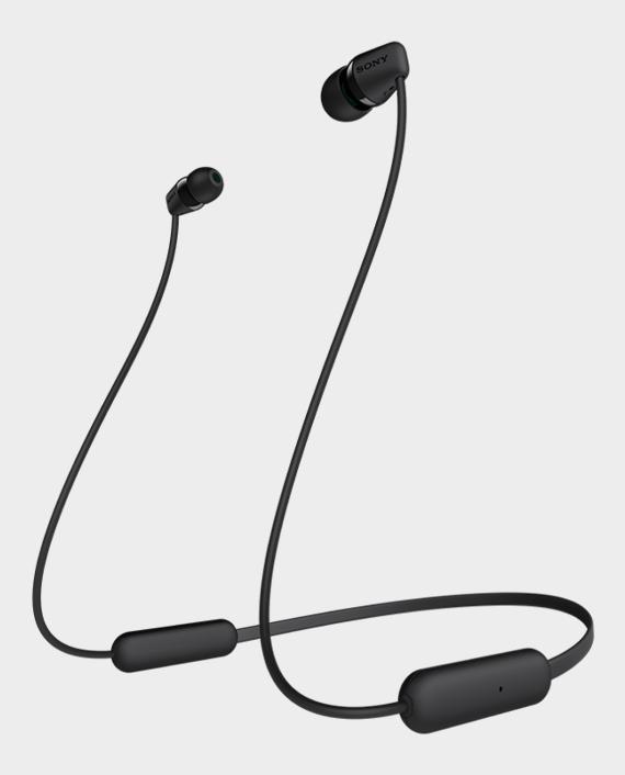 Sony WI-C200 Wireless In-Ear Headphones Black in Qatar