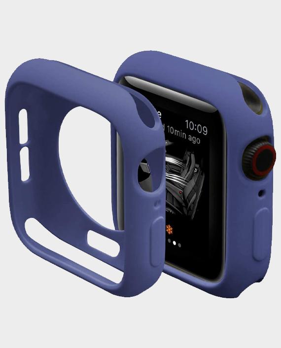 Green GNSTYGW44BL Stylin Guard Pro Case For Apple Watch 44mm Blue in Qatar