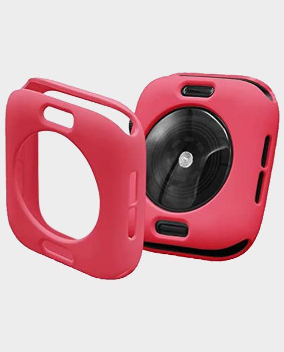 Green GNSTYGW44RD Stylin Guard Pro Case For Apple Watch 44mm Red