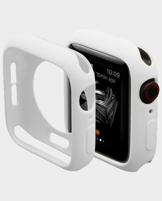 Green GNSTYGW44WH Stylin Guard Pro Case For Apple Watch 44mm White in Qatar