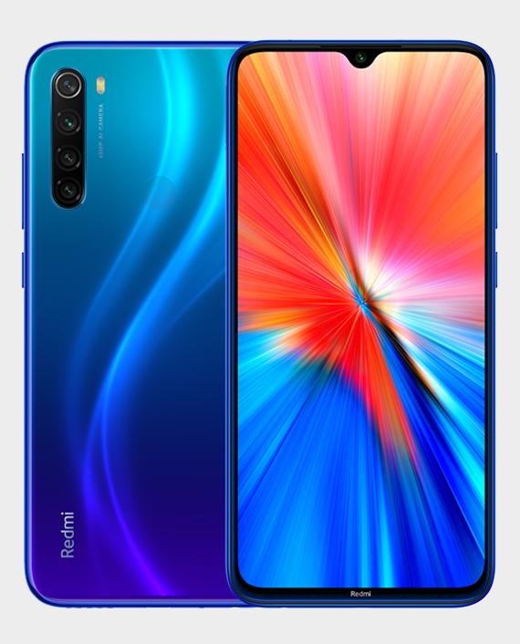Xiaomi Redmi Note 8 2021 4GB 64GB Neptune Blue in Qatar