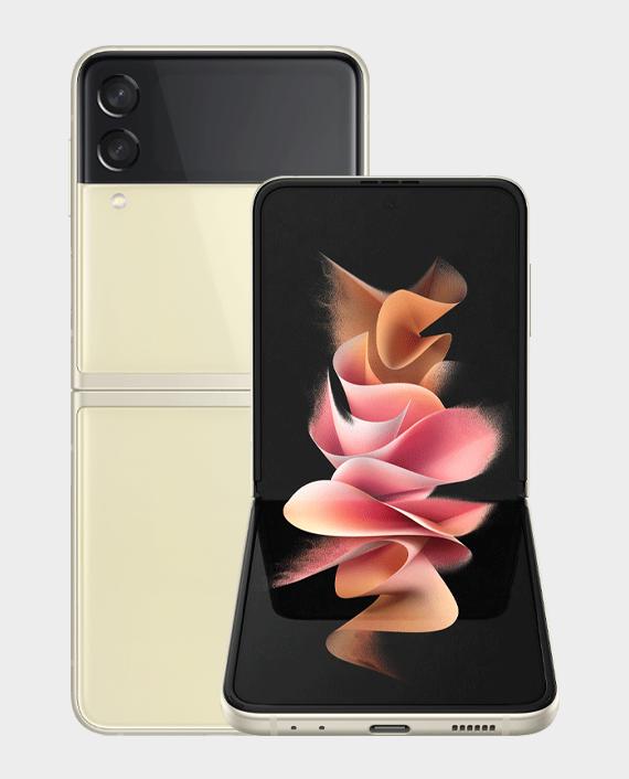 Samsung Galaxy Z Flip 3 5G 8GB 128GB Cream in Qatar