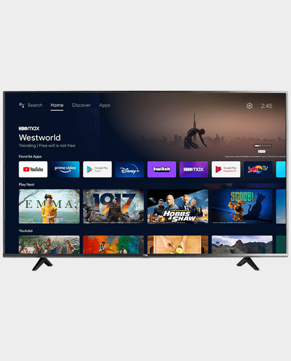 TCL 65T615 4K UHD LED Android Smart TV 65 Inch in Qatar