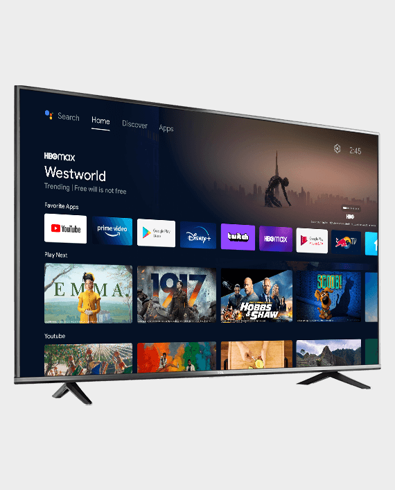 TCL 65T615 4K UHD LED Android Smart TV 65 Inch