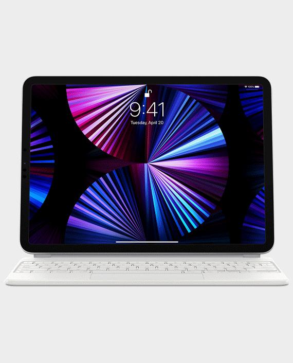Apple MJQJ3L iPad Magic Keyboard 11 inch English White in Qatar
