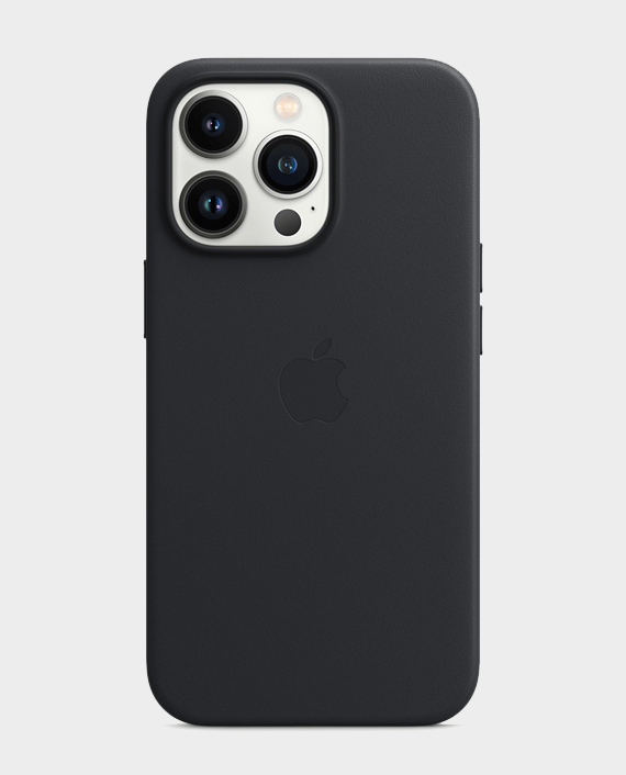 Apple iPhone 13 Pro Leather Case with MagSafe Midnight in Qatar