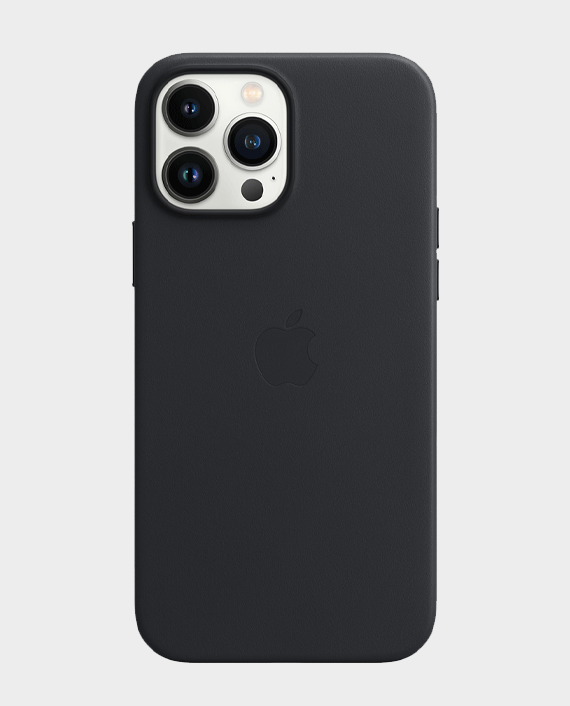 Apple iPhone 13 Pro Max Leather Case with MagSafe Midnight in Qatar