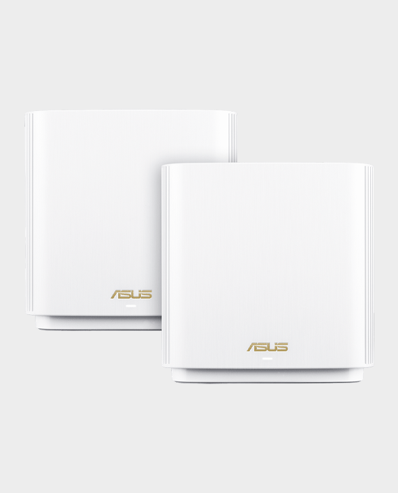 Asus ZenWifi AX (XT8) AX6600 Whole-Home Tri-band Mesh WiFi 6 System 2 Pack White in Qatar
