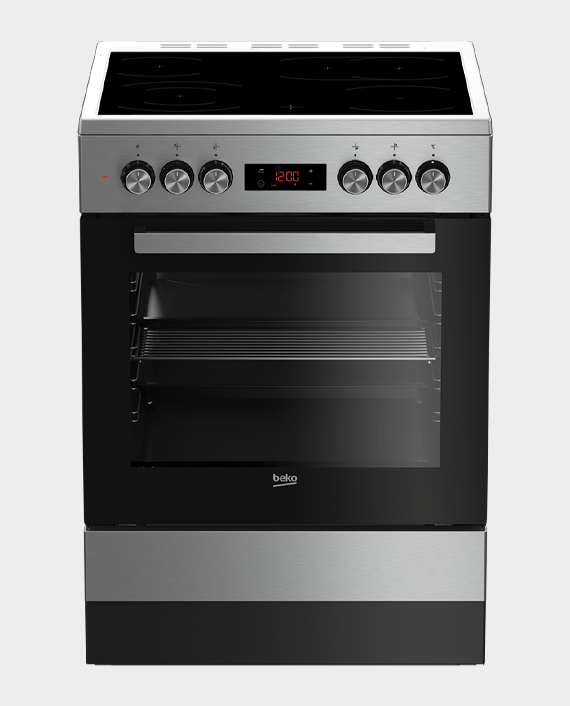Beko FSM67320GXS Ceramic Cooking Range 60 x 60 cm Stainless Steel in Qatar