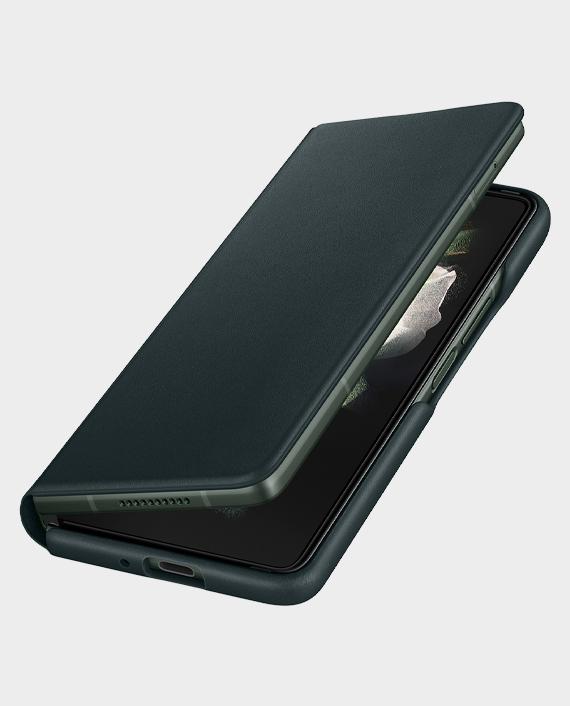 Samsung EFFF926LG Fold 3 Leather Flip Cover Green