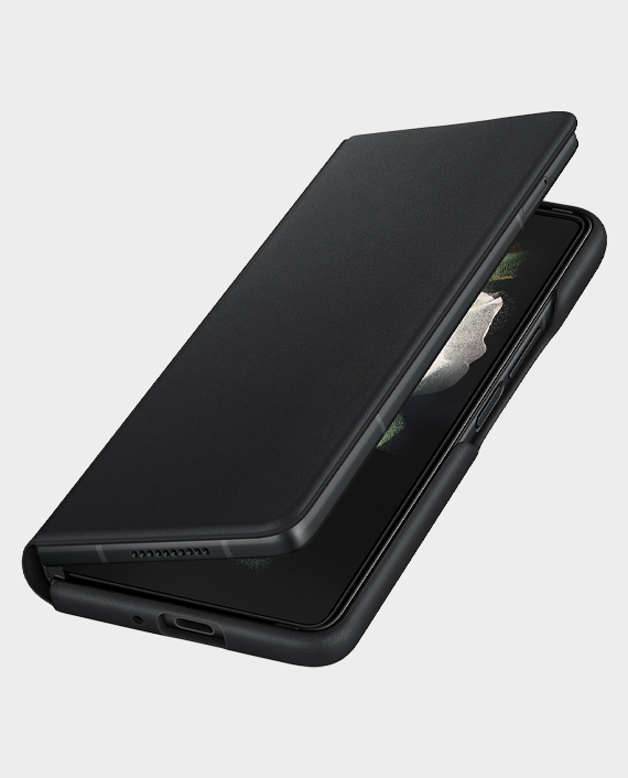 Samsung EFFF926LB Fold 3 Leather Flip Cover