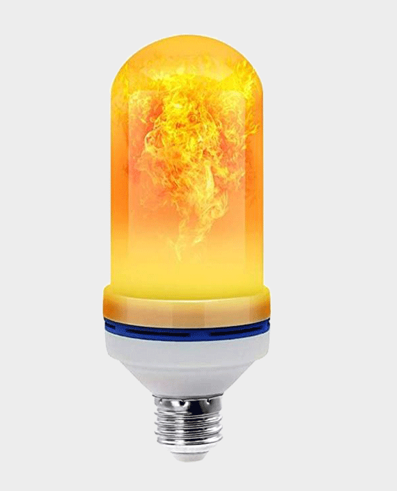 GgLED Flame Bulb E27 3 Working Modes 2200K Warm Color in Qatar