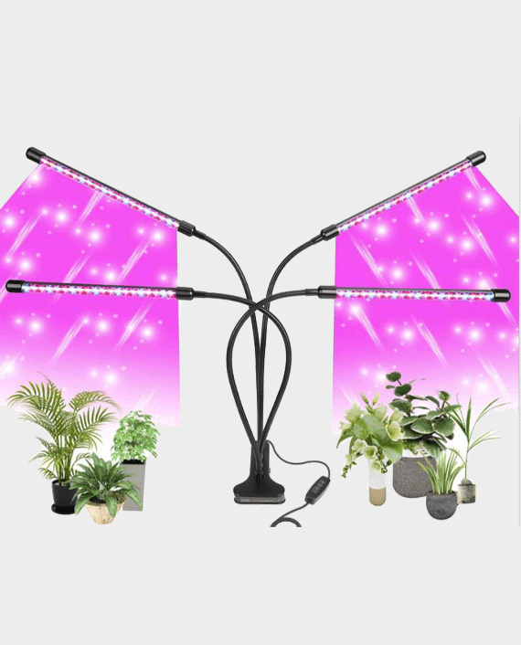 Glint LED Table Grow Light- 4 Head with Chip 48W in Qatar