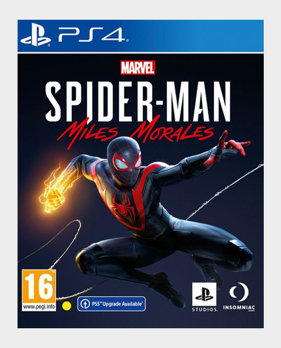 PS4 Marvel Spider Man Miles Morales in Qatar
