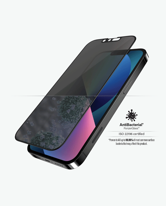 PanzerGlass iPhone 13/13 Pro Privacy Case Friendly Screen Protector