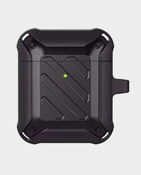 Protective Case for Airpods 2 & 1 Black in Qatar