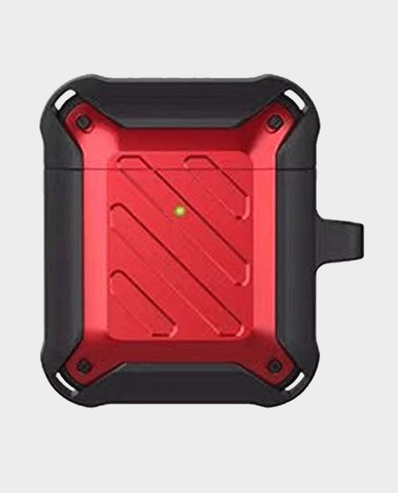 Protective Case for Airpods 2 1 Red/Black in Qatar