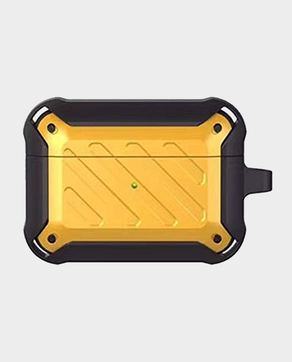 Protective Case for Airpods Pro Yellow/Black in Qatar