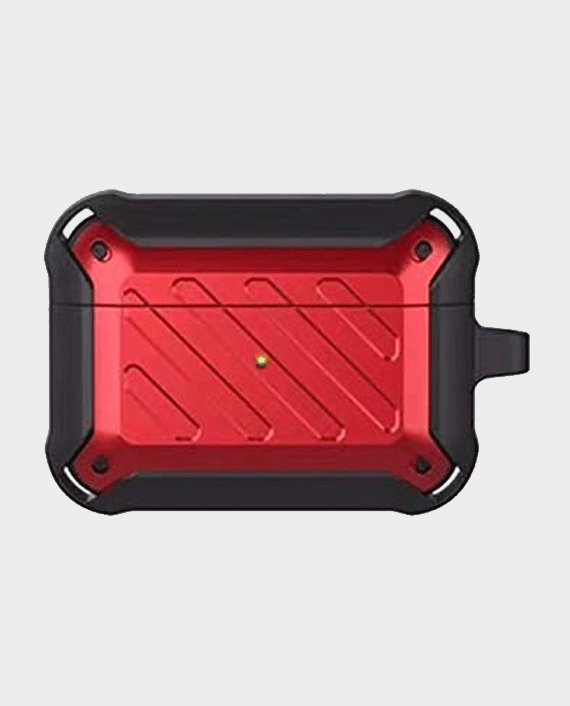 Protective Case for Airpods Pro Red/Black in Qatar