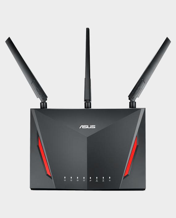 Asus RT-AC86U AC2900 Dual Band Gigabit WiFi Gaming Router in Qatar