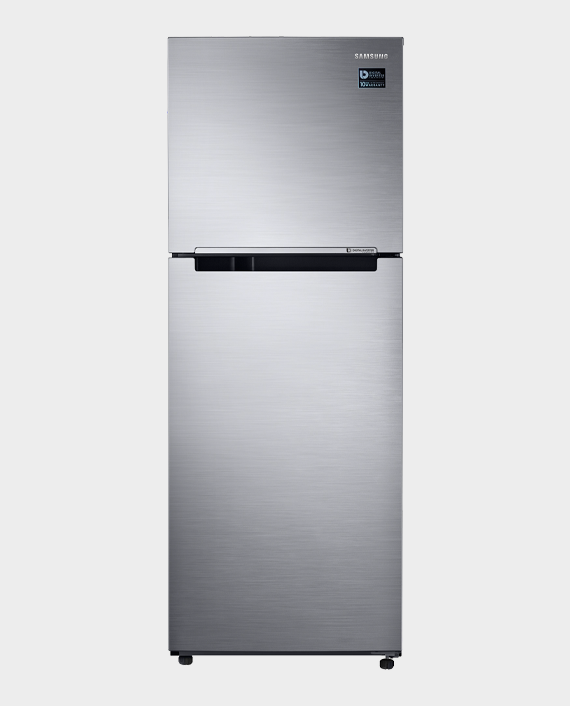 Samsung RT39K500JS8 Top Mount Freezer with Twin Cooling 302L Silver in Qatar