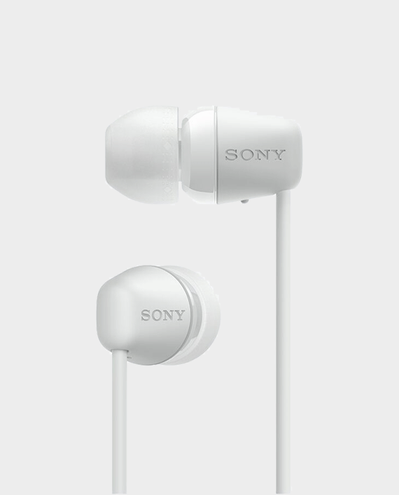 Sony WI-C200 Wireless In-Ear Headphones White
