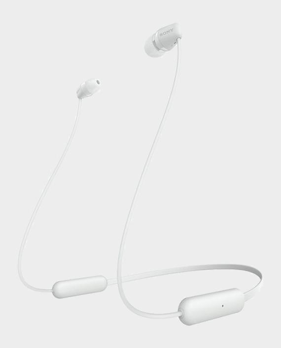 Sony WI-C200 Wireless In-Ear Headphones White in Qatar