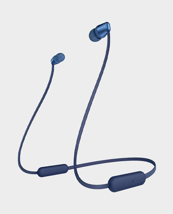 Sony WI-C310 Wireless In-Ear Headphones Blue in Qatar