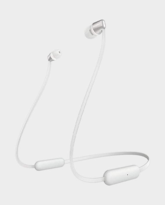 Sony WI-C310 Wireless In-Ear Headphones White in Qatar