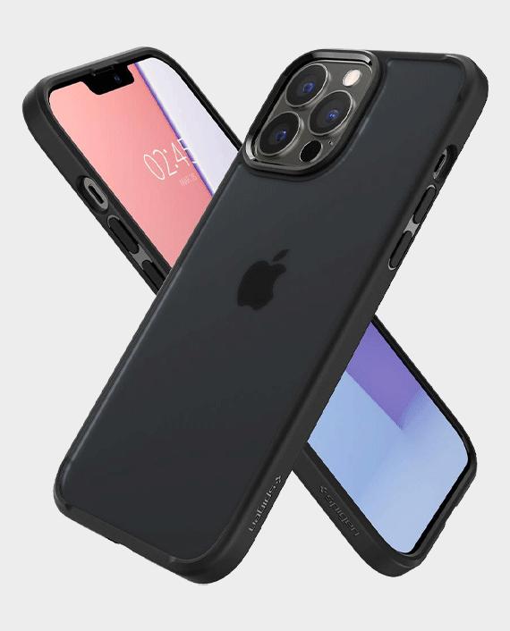 Spigen iPhone 13 Pro Max Crystal Hybrid Matte Black