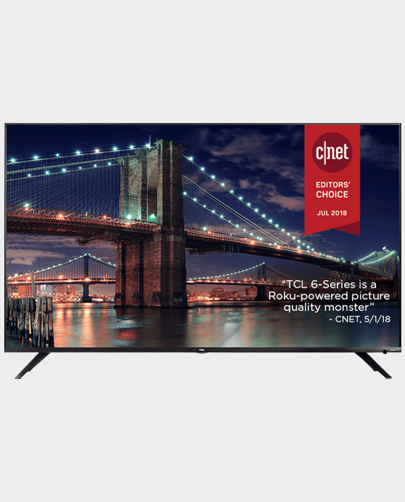 TCL 75T615 4K UHD Dolby Vision HDR Roku Smart TV 75 inch in Qatar