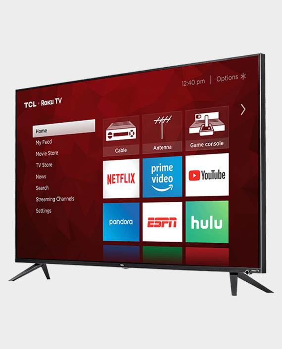 TCL 75T615 4K UHD Dolby Vision HDR Roku Smart TV 75 inch