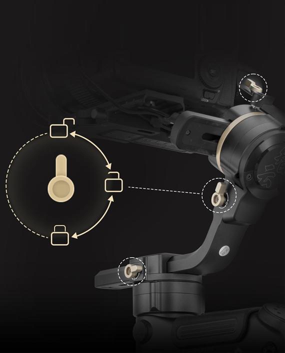 Zhiyun Tech Crane 3S Pro Handheld Stabilizer