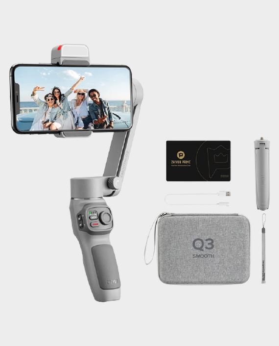 Zhiyun Tech Smooth Q3 Combo Smartphone Gimbal Stabilizer in Qatar