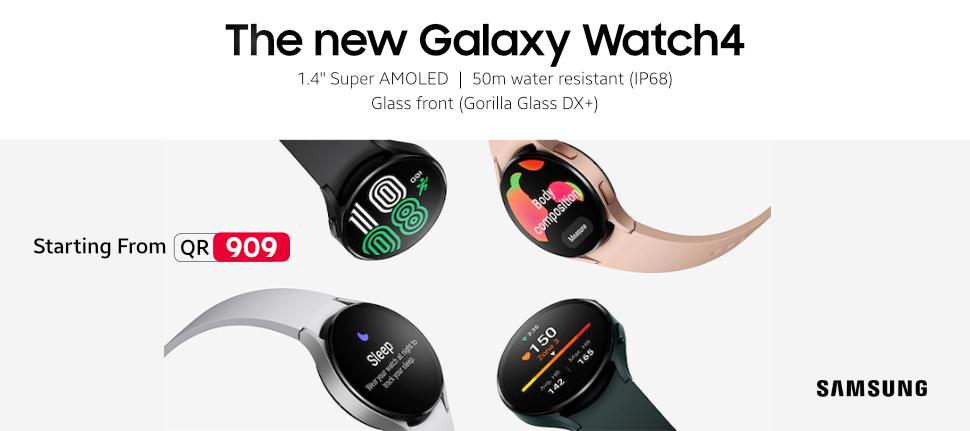 Samsung Galaxy Watch 4 In Qatar