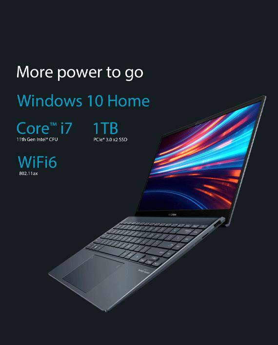 Asus ZenBook 13 OLED UX325EA-OLED001T Intel Core i7-1165G7 16GB RAM 1TB SSD 13.3 inch FHD OLED Intel Iris Xe Graphics Windows 10