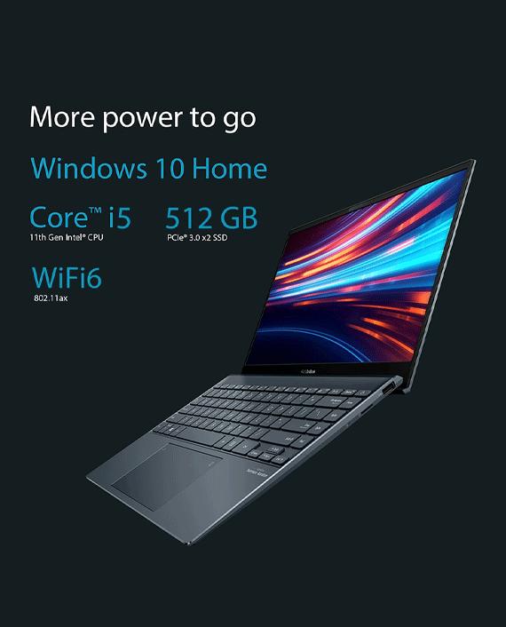 Asus ZenBook 13 OLED UX325EA-OLED005T Intel Core i5-1135G7 8GB RAM 512GB SSD Intel Iris Xe Graphics 13.3 inch FHD OLED Windows 10