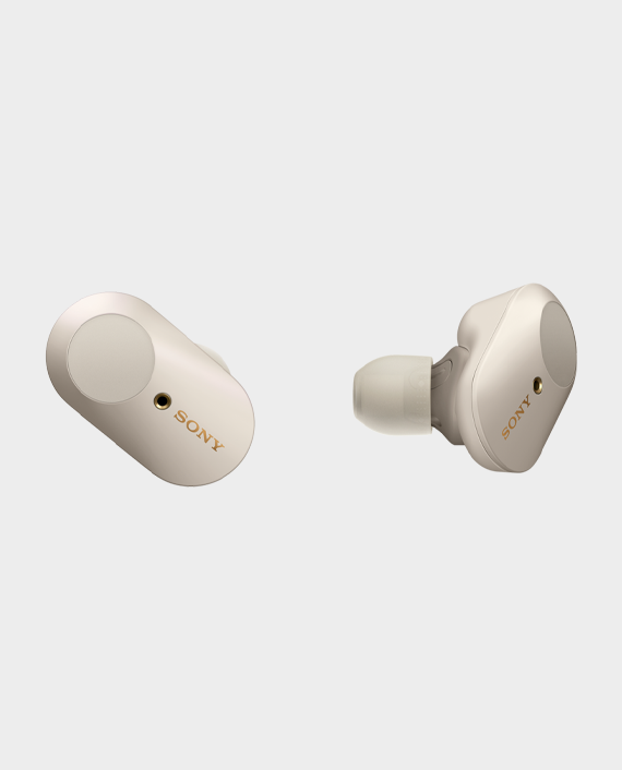 Sony WF1000XM3 Wireless Noise Canceling Headphones Silver in Qatar