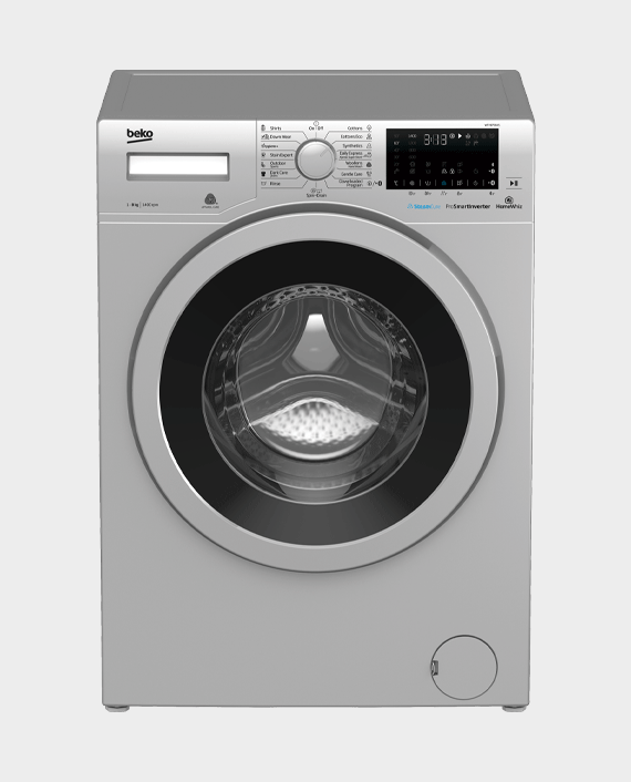 Beko WTV8736XS Freestanding Washing Machine 8 kg 1400 rpm Grey in Qatar