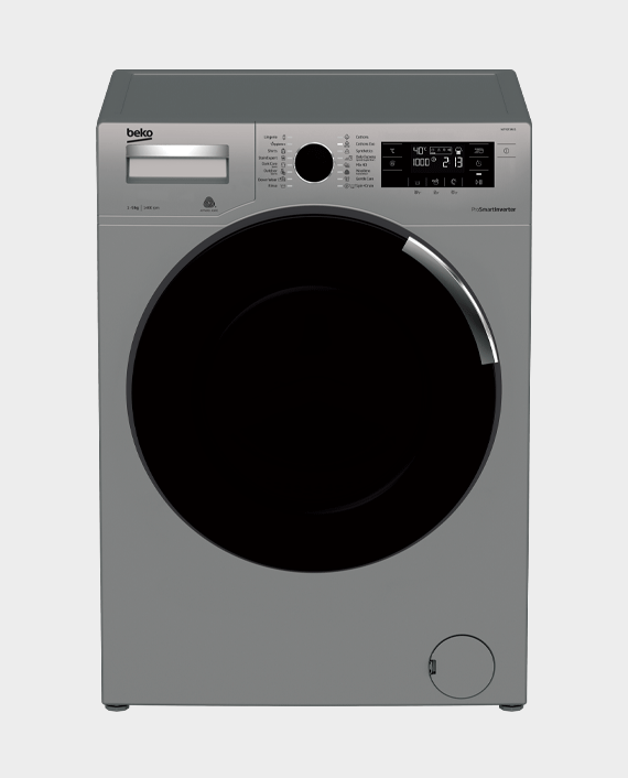 Beko WTV9734XS Freestanding Washing Machine 9 kg 1400 rpm Grey in Qatar