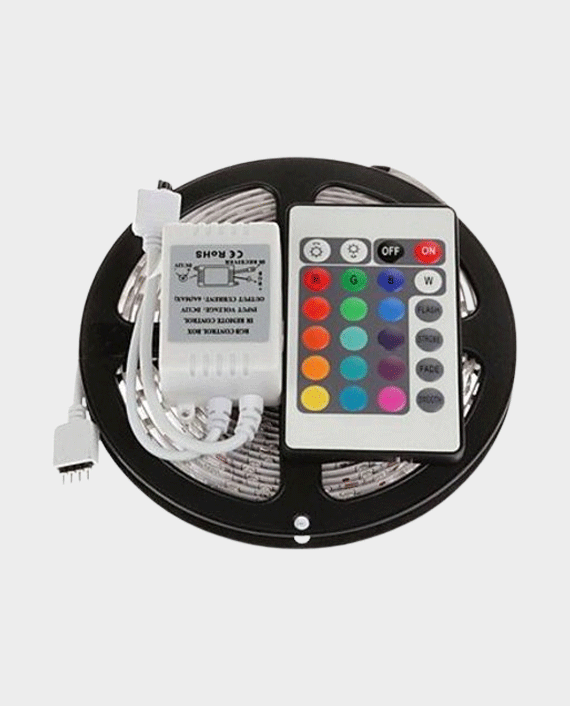Wink RGB Strip Light 5 Meter with 24 Key Remote in Qatar