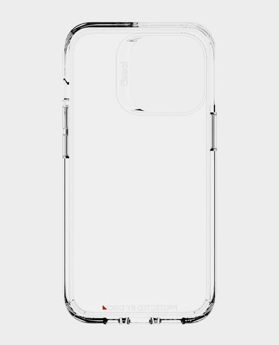 Zagg Gear4 iPhone 13 Pro D3O Crystal Palace Case Clear in Qatar