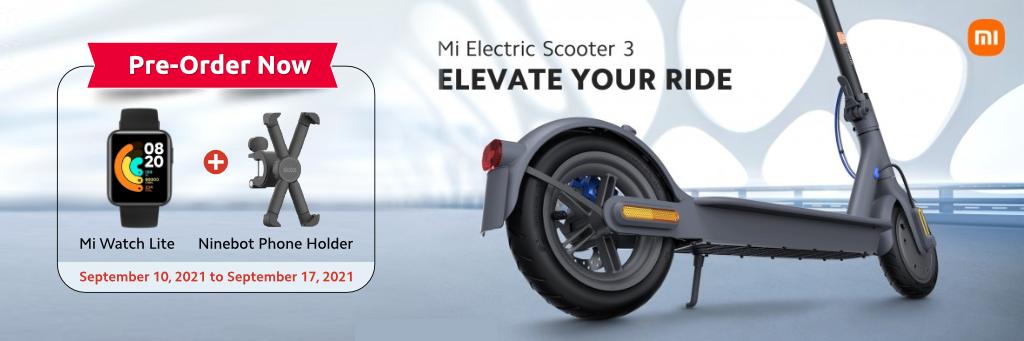 Mi Electtic scooter 3 in Qatar