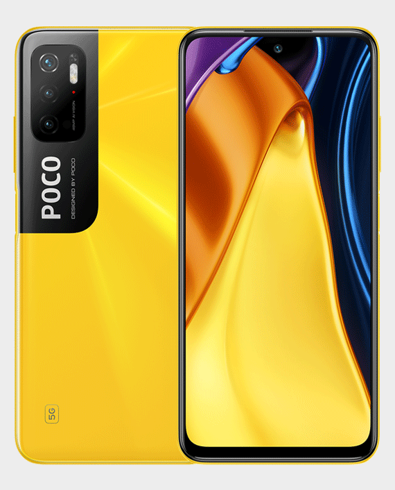 Xiaomi Poco M3 Pro 5G 6GB 128GB Yellow in Qatar