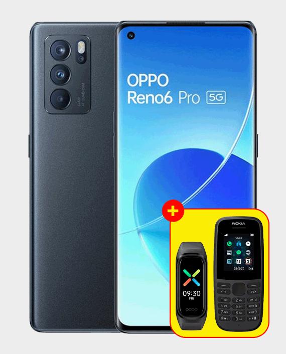 Oppo Reno 6 Pro 5G 12GB 256GB Lunar Grey in Qatar