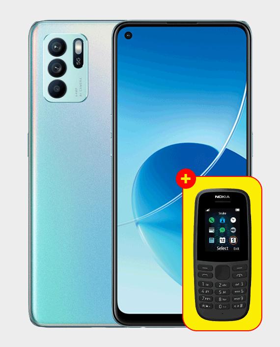 Oppo Reno 6Z 5G 8GB 128GB Aurora in Qatar
